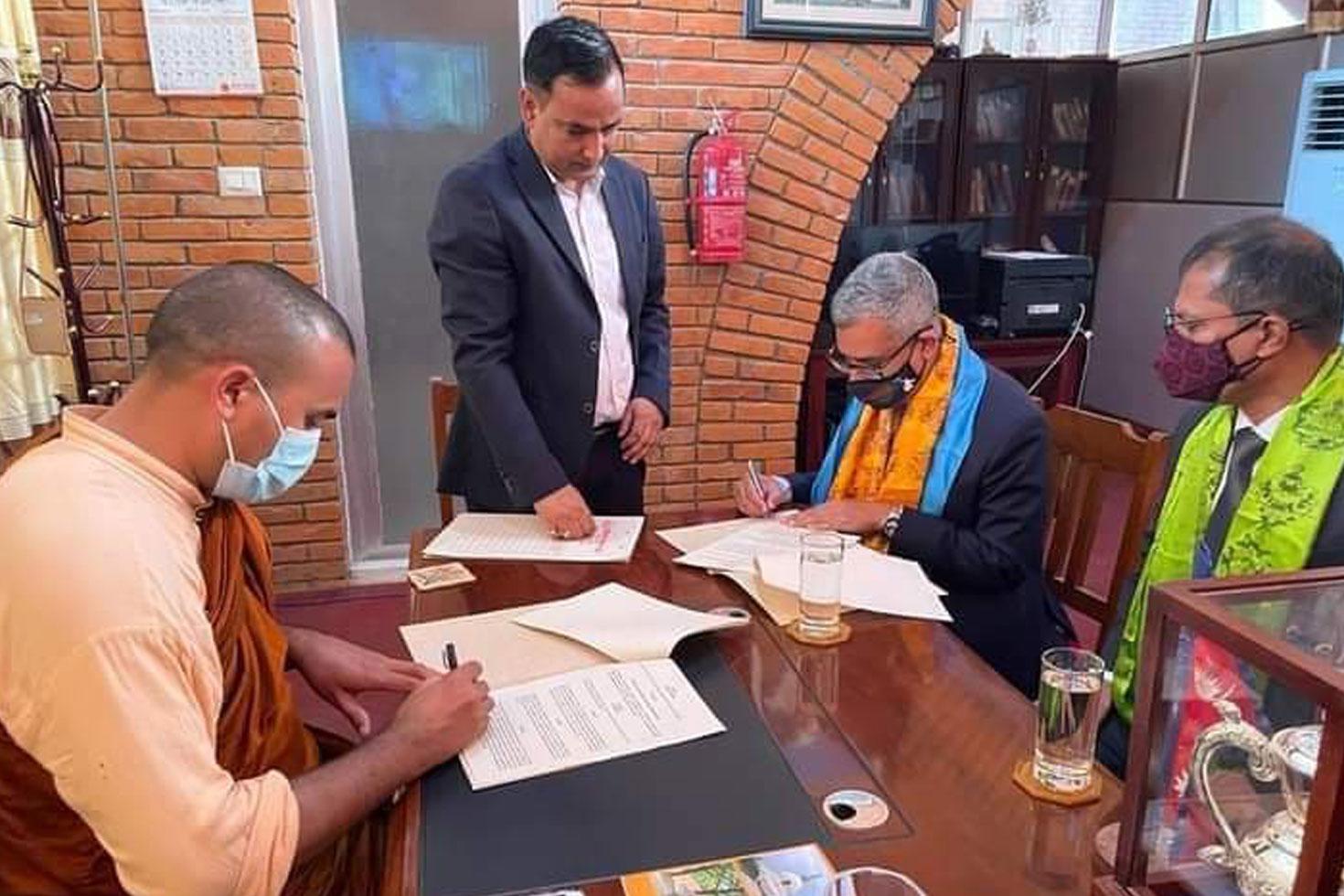 নেপালে বৌদ্ধবিহার নির্মাণ করবে বাংলাদেশ