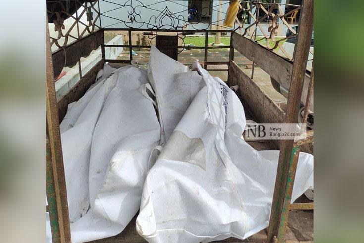 মাছবাহী পিকআপে লরির ধাক্কা, ২ শিশু নিহত