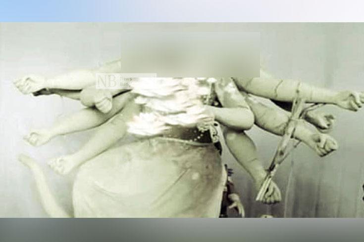 পটিয়ায় মন্দিরে প্রতিমা ভাঙচুর