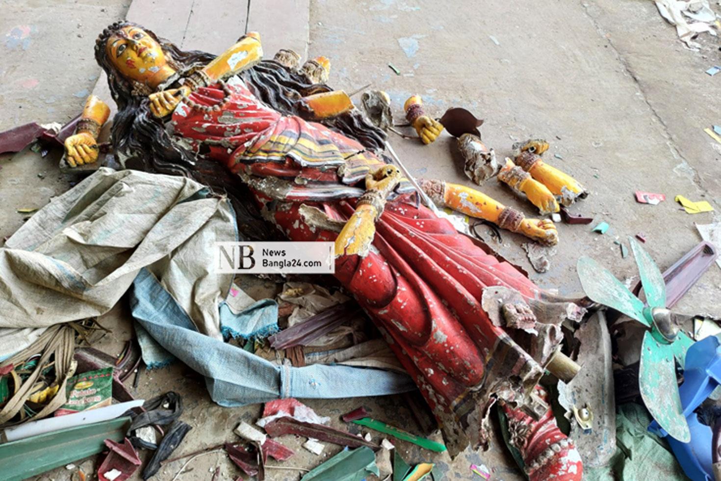 বেগমগঞ্জে আগে প্রতিমা বিসর্জন দিয়েও ঠেকানো যায়নি হামলা