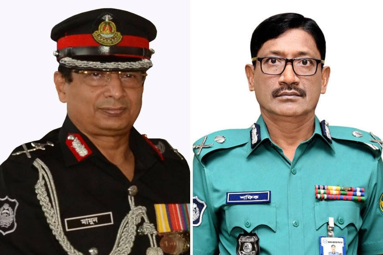 পদোন্নতি পেলেন র্যাব মহাপরিচালক-ডিএমপি কমিশনার