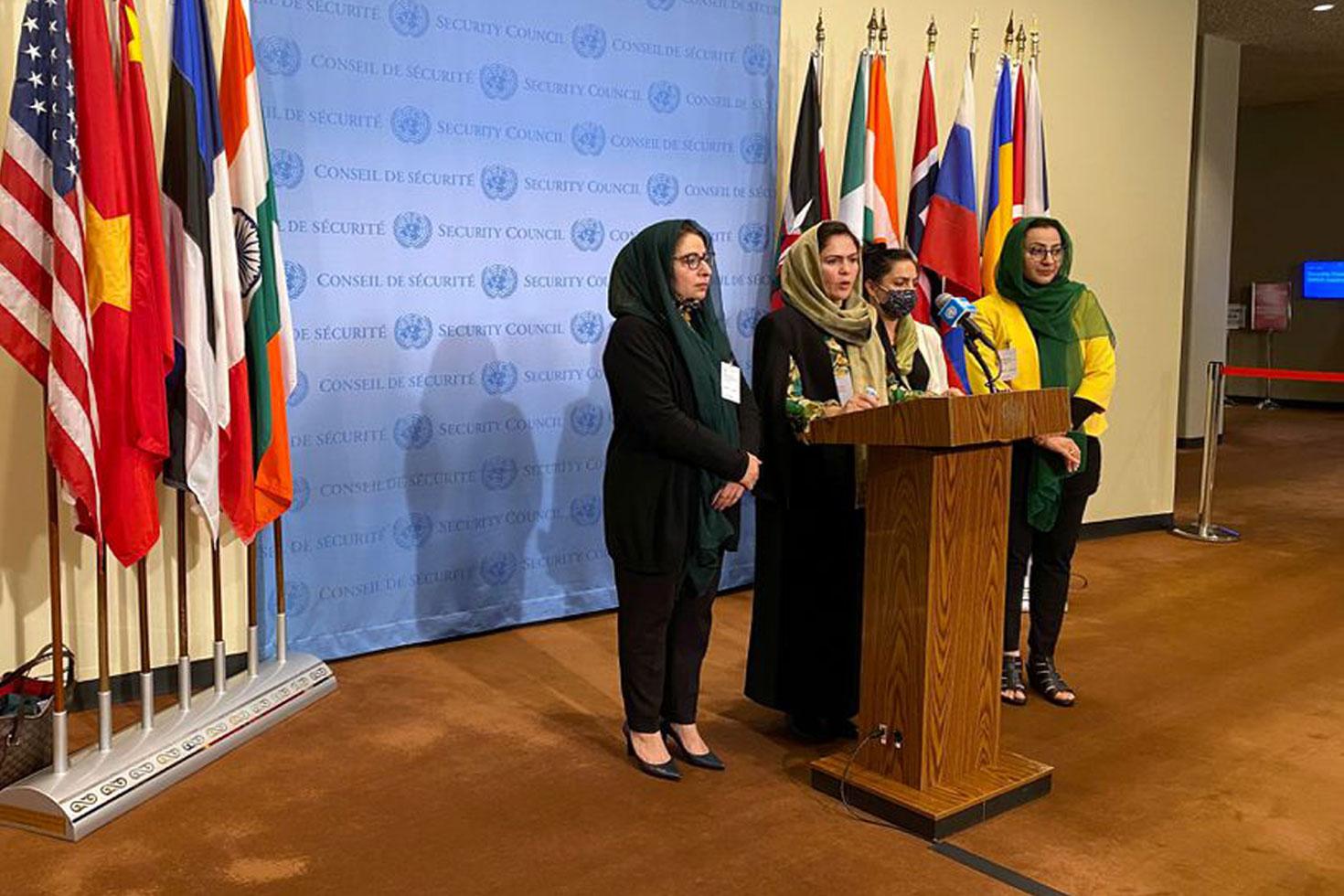 জাতিসংঘে তালেবান রাষ্ট্রদূত চায় না আফগান নারীরা