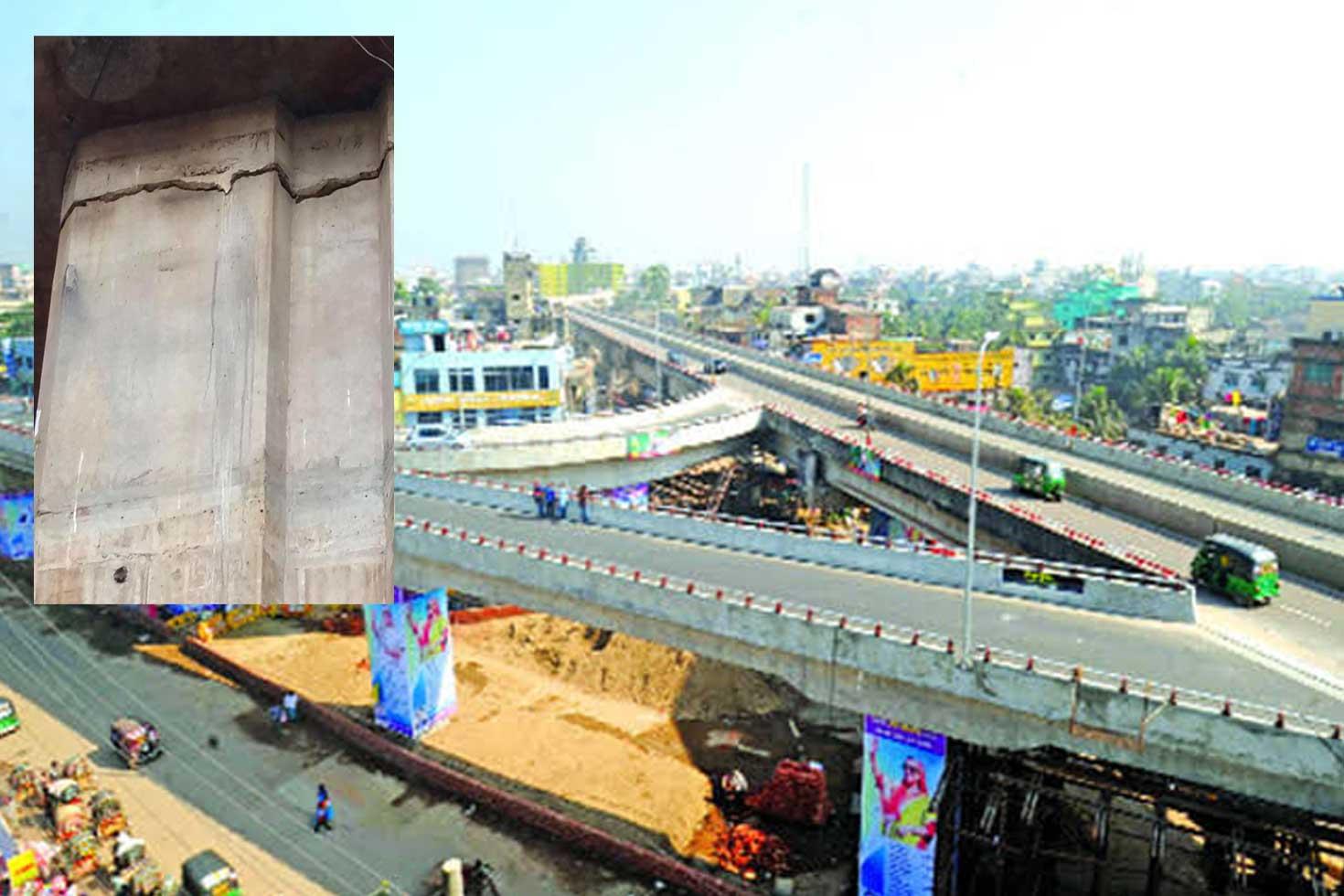 চট্টগ্রামে ফ্লাইওভারে ফাটল গুজব: প্রকল্প পরিচালক